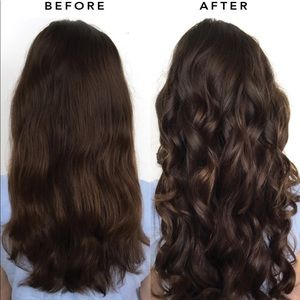 Luxy chocolate brown clip in hair extensions